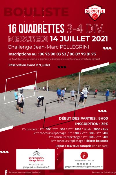 Concours J-M Pellegrini 2021
